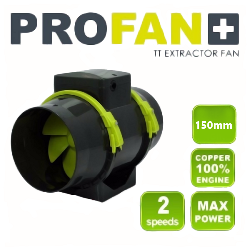 Exaustor ProFan Highpro TT Extractor Fan 150mm - 220v