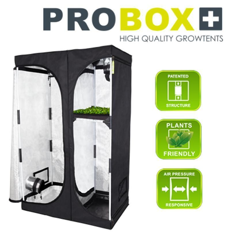 Estufa Pro Box 100 PL  Indoor 100x60x160cm Gardem HighPro