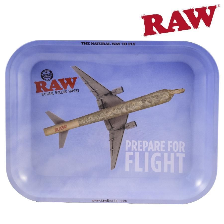 RAW Rolling Tray – Prepare For Flight Large