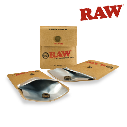RAW Pocket Ashtray Cinzeiro de Bolso