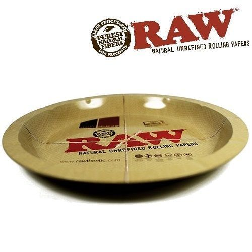 RAW Rolling Tray – Classic Round