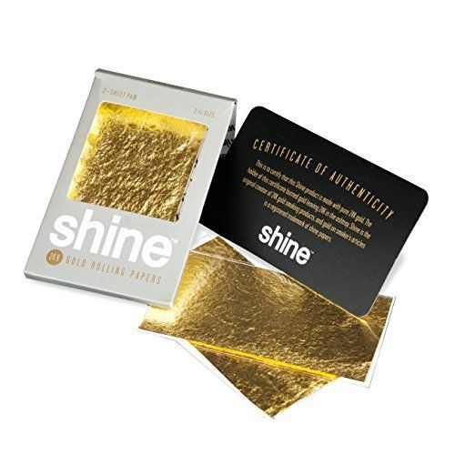 Shine Small Size- Pack C/ 2 Uni. Rolling Paper