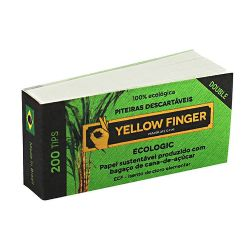 Piteira de Papel Yellow Finger Ecologic Double