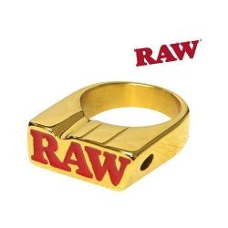 Anel RAW Banhado a Ouro 24k