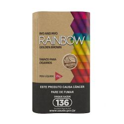 Tabaco Orgânico Rainbow Golden Brown 25g
